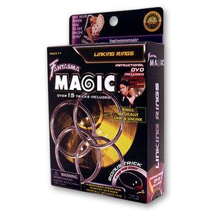 Linking Rings (DVD and 4 Ring Set) by Shoot Ogawa and Fantasma Magic - DVD